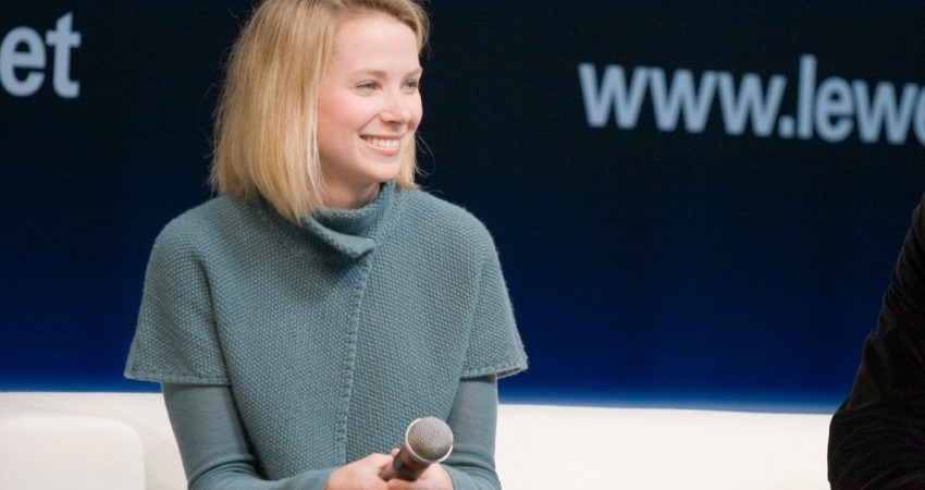 Marissa Mayer of Yahoo Buys Tumblr