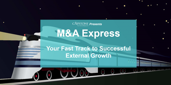 M&A Express Your Fast Track to External Growth