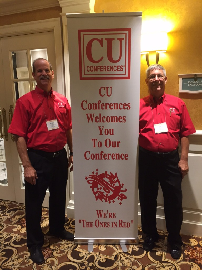 John and Don Berra, hosts of CU Conferences.