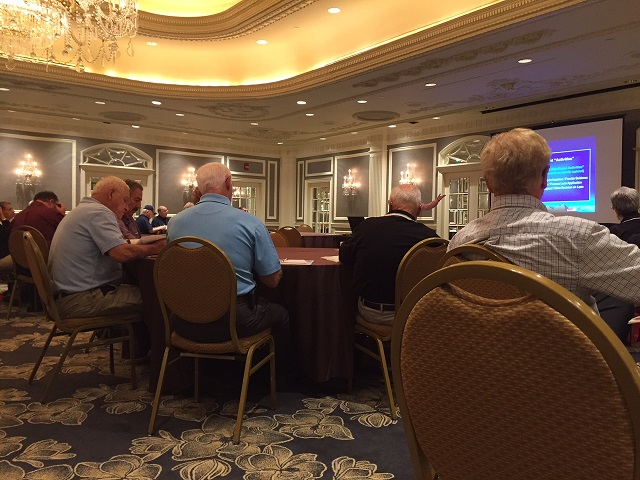 Participants at the Credit Union Services and Products Conference hosted by CU Conferences in Nashville, Tennessee.