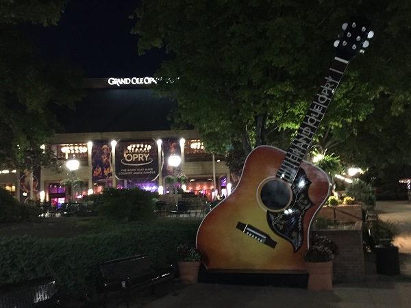 Nashville at night: The Grand Ole Opry