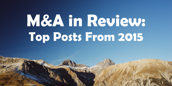 M&A in Review 2015