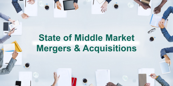 State of Middle Market M&A 2015 Capstone