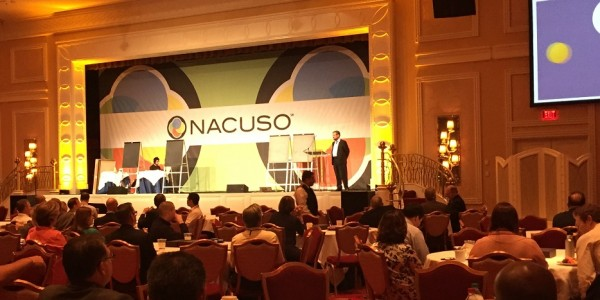 Capstone at nacuso 2016 conference