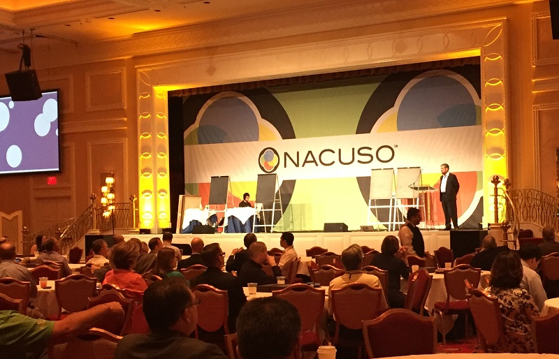 CUSO leaders listen to industry experts at the 2016 NACUSO Annual Conference.
