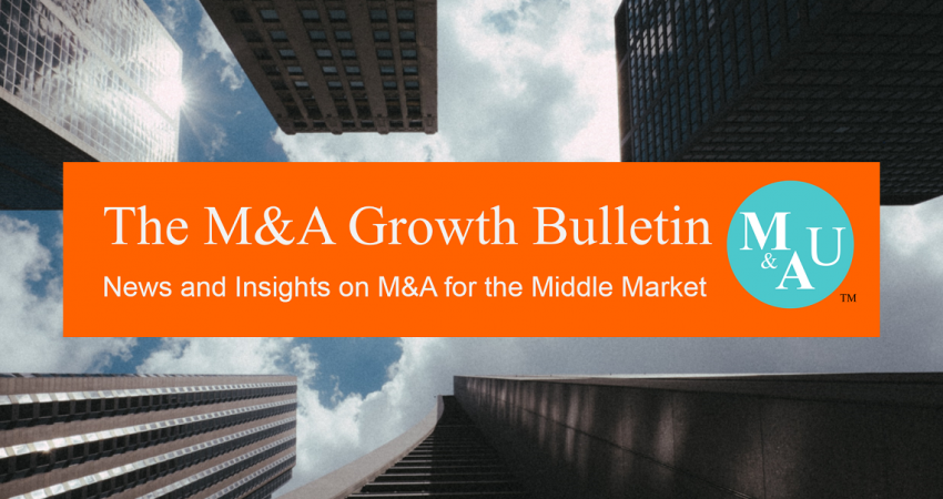 Capstone Launches the M&A Growth Bulletin - Quarterly Newsletter