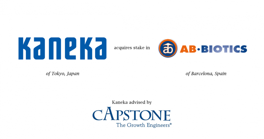 Capstone Strategic Advises Kaneka on Deal with AB-Biotics of Spain