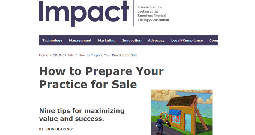 PPS Impact Magazine Article by John Dearing, Capstone