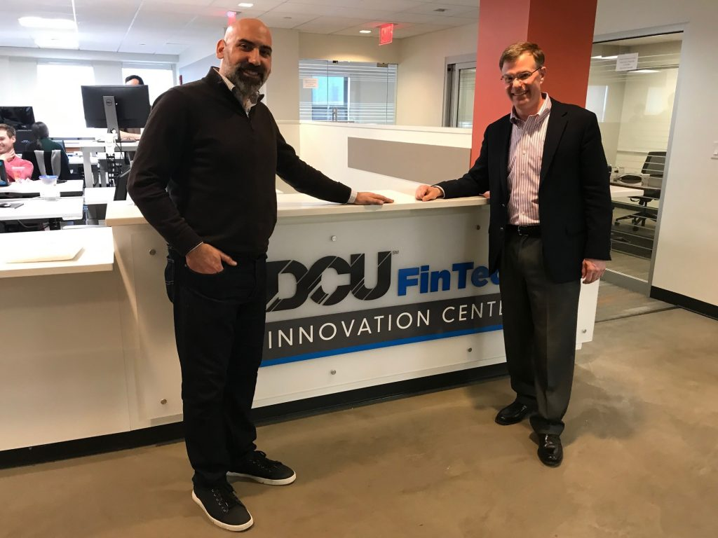 Vasilios Roussos, Managing Director, the DCU FinTech Innovation Center and John Dearing, Managing Director, Capstone