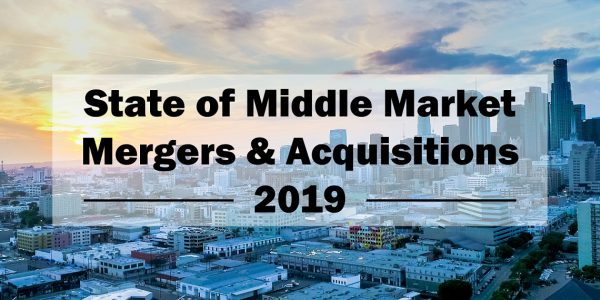 State of Middle Market M&A 2019 Survey