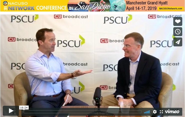 Mike Lawson of CUbroadcast and Capstone's John Dearing chat about M&A and credit unions