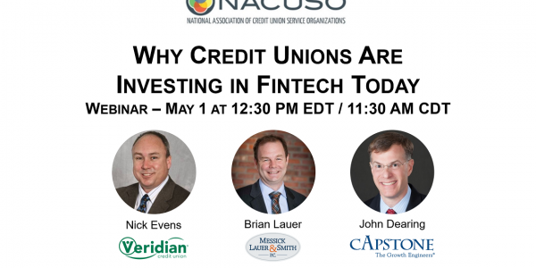 Why Credit Unions Invest in Fintech Webinar